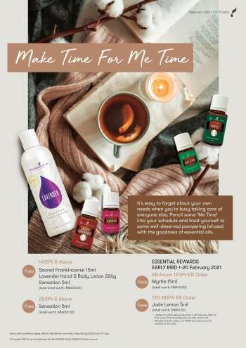Young Living catalogue  - 01 February 2021 - 28 February 2021.