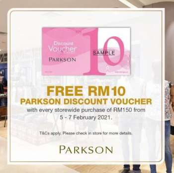 Parkson catalogue  - 05 February 2021 - 07 February 2021.