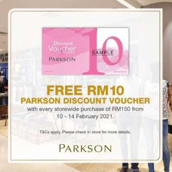 Parkson catalogue  - 10 February 2021 - 14 February 2021.