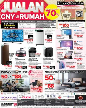 Harvey Norman promotion