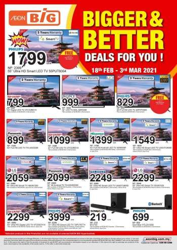 Aeon Big catalogue  - 18 February 2021 - 03 March 2021.