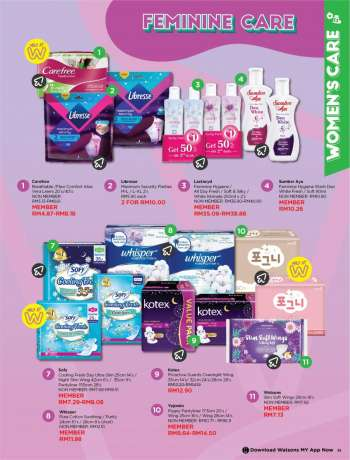 Watsons catalogue  - 23 February 2021 - 29 March 2021.