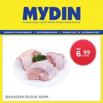 Mydin catalogue  - 26 February 2021 - 28 February 2021.
