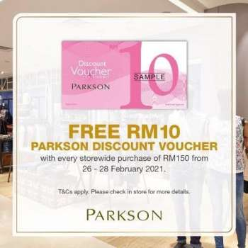 Parkson catalogue  - 26 February 2021 - 28 February 2021.