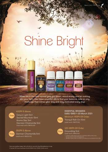 Young Living catalogue  - 01 March 2021 - 31 March 2021.