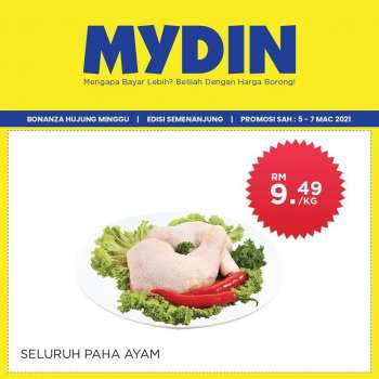 Mydin catalogue  - 05 March 2021 - 07 March 2021.