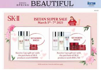 Isetan catalogue  - 05 March 2021 - 17 March 2021.