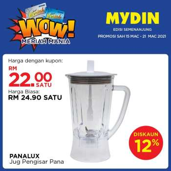 Mydin catalogue  - 15 March 2021 - 21 March 2021.