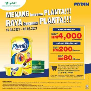 Mydin catalogue  - 15 March 2021 - 09 May 2021.