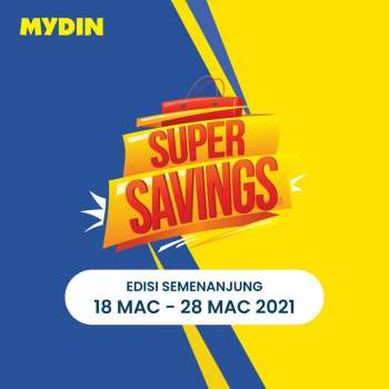 Mydin catalogue  - 18 March 2021 - 28 March 2021.