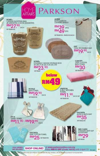 Parkson catalogue  - 19 March 2021 - 04 April 2021.