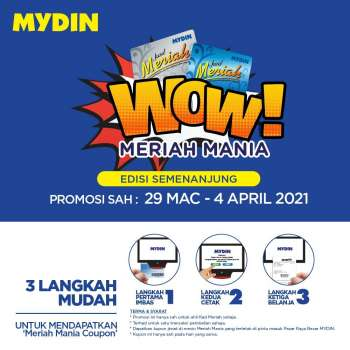 Mydin catalogue  - 29 March 2021 - 04 April 2021.