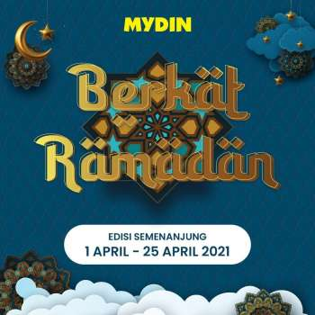 Mydin catalogue  - 01 April 2021 - 25 April 2021.