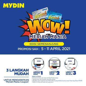 Mydin catalogue  - 05 April 2021 - 11 April 2021.