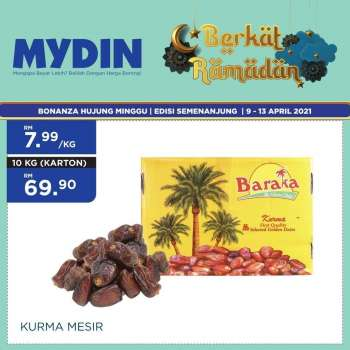 Mydin catalogue  - 09 April 2021 - 13 April 2021.