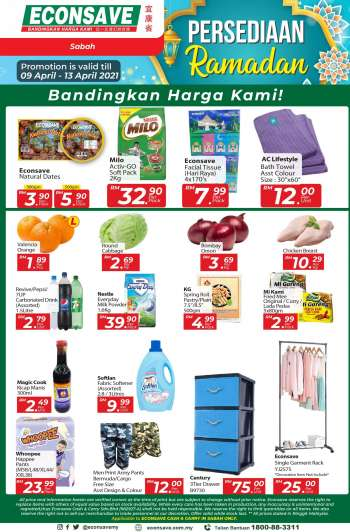 Econsave catalogue  - 09 April 2021 - 13 April 2021.