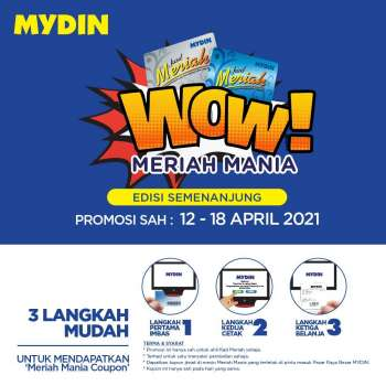 Mydin catalogue  - 12 April 2021 - 18 April 2021.