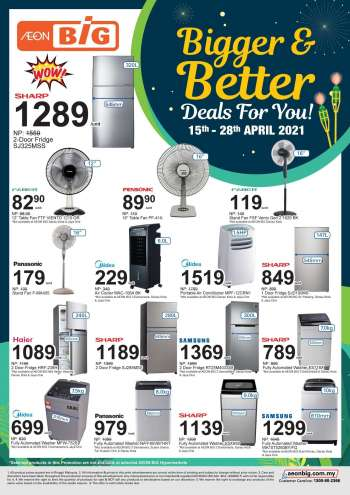 Aeon Big catalogue  - 15 April 2021 - 28 April 2021.