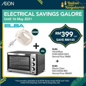 AEON Store catalogue  - 18 April 2021 - 16 May 2021.