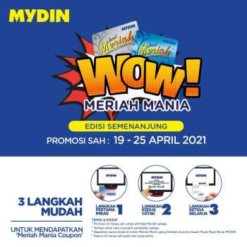 Mydin catalogue  - 19 April 2021 - 25 April 2021.