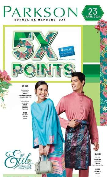 Parkson catalogue  - 21 April 2021 - 23 April 2021.