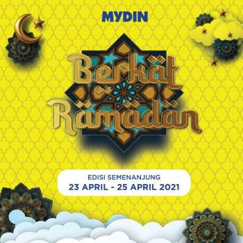 Mydin catalogue  - 23 April 2021 - 25 April 2021.