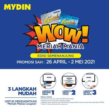 Mydin catalogue  - 26 April 2021 - 02 May 2021.