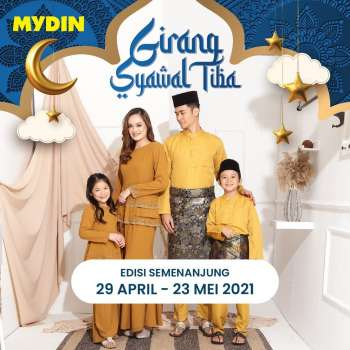 Mydin catalogue  - 29 April 2021 - 23 May 2021.