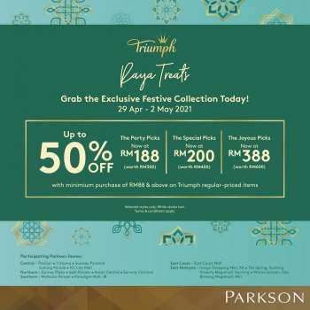 Parkson catalogue  - 29 April 2021 - 02 May 2021.