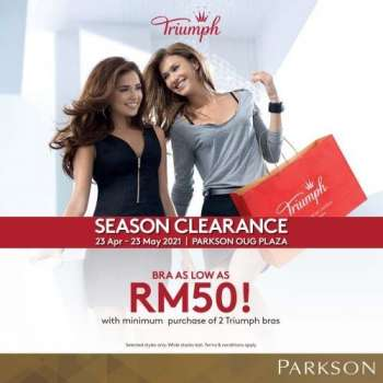 Parkson catalogue  - 23 April 2021 - 23 May 2021.
