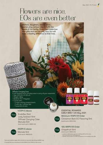 Young Living catalogue  - 01 May 2021 - 31 May 2021.