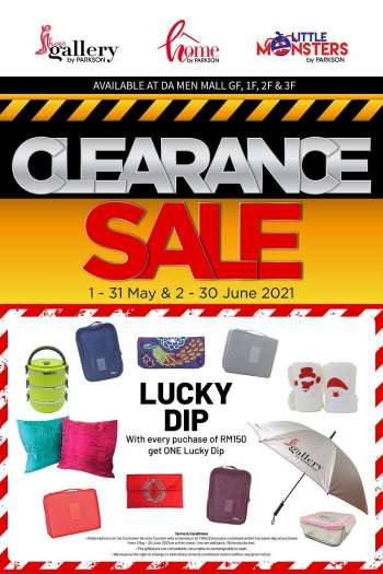 Parkson catalogue  - 01 May 2021 - 31 May 2021.
