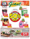 Giant catalogue  - 03 October 2019 - 16 October 2019.