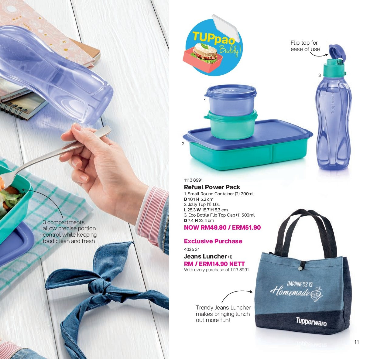 Iklan TupperwareBrands - 13.08.2018 - 30.09.2018. Halaman 11.