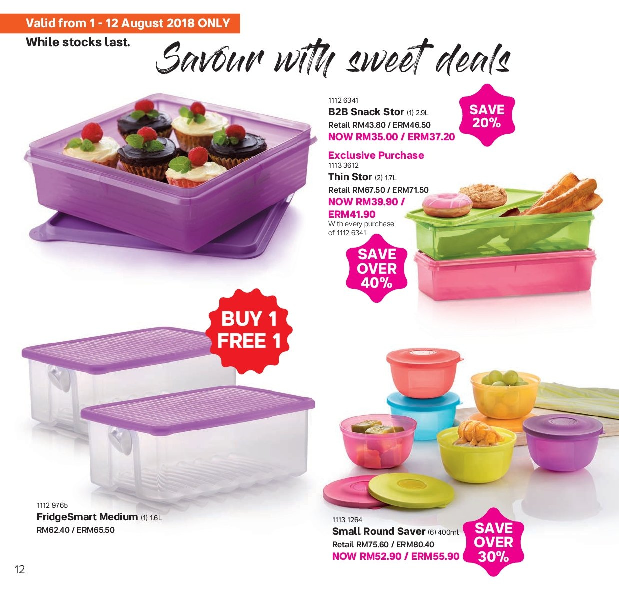 Iklan TupperwareBrands - 01.08.2018 - 31.08.2018. Halaman 12.
