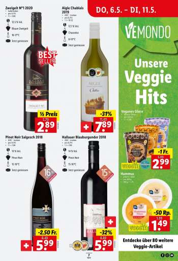 Catalogue Lidl - 6.5.2021 - 11.5.2021.