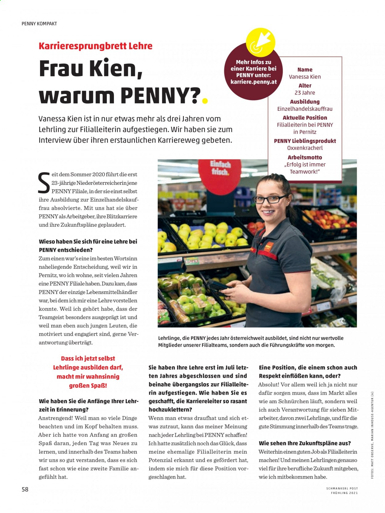 Angebote Penny. Seite 58.