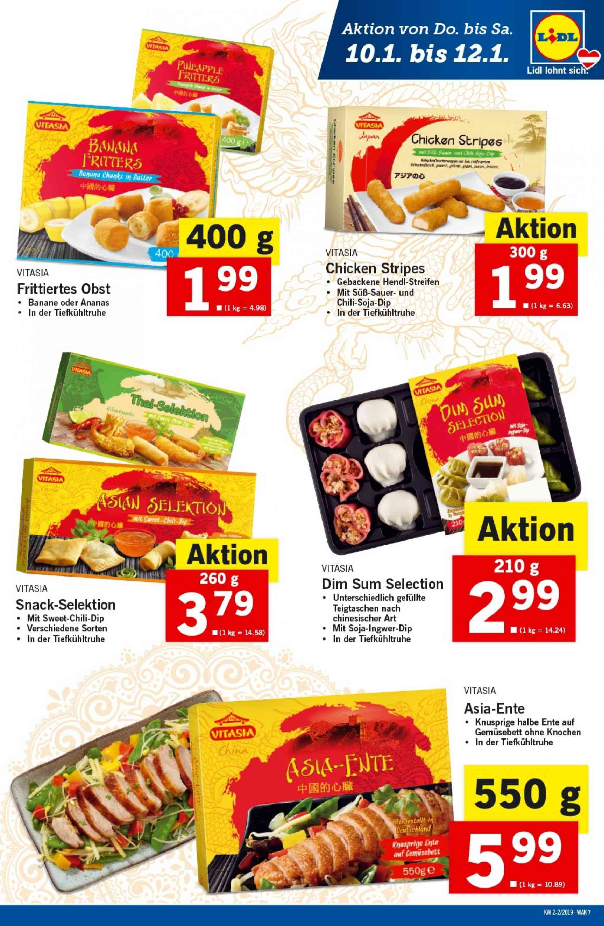 Angebote Lidl - 10.1.2019 - 16.1.2019. Seite 7.