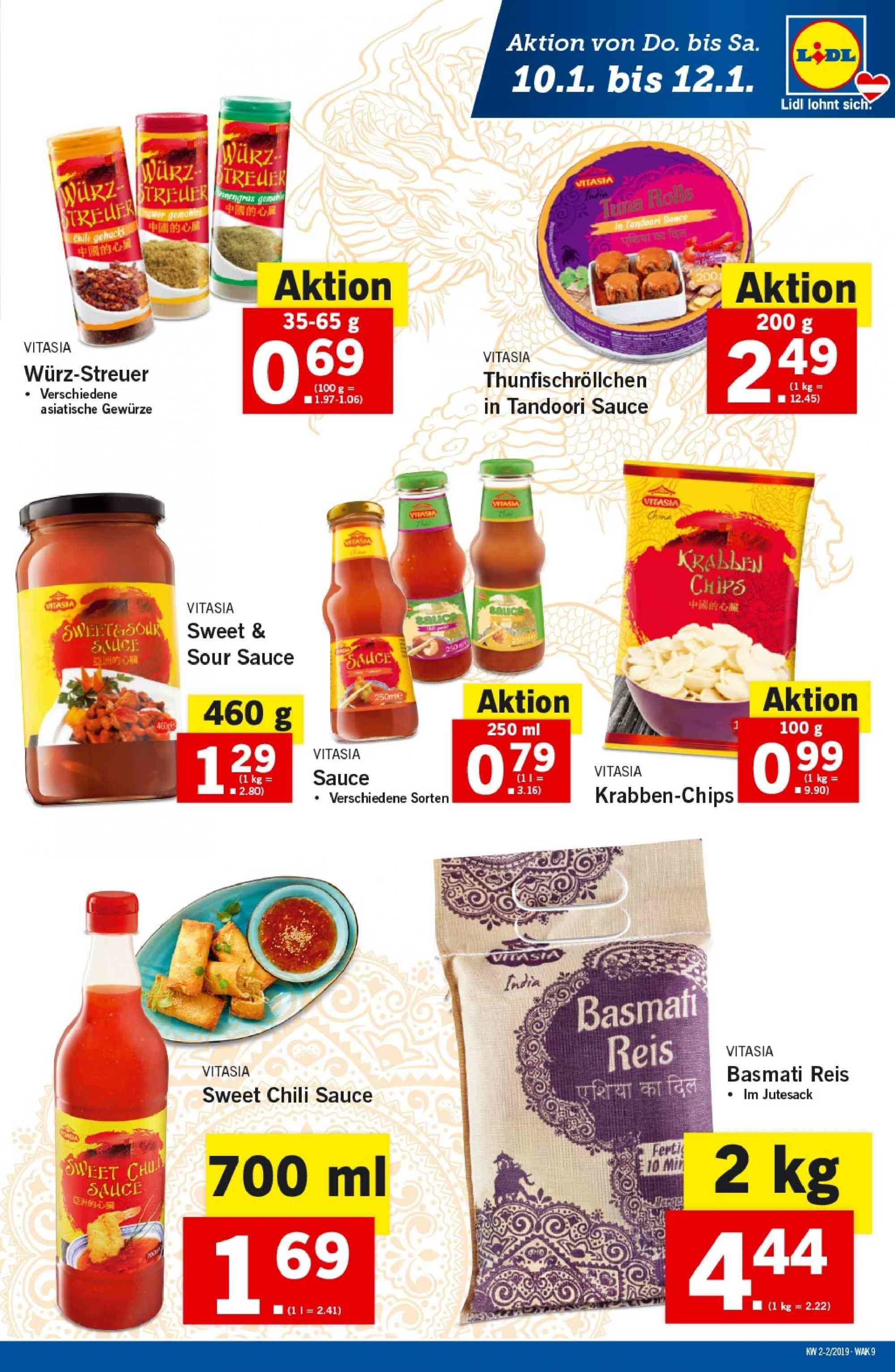 Angebote Lidl - 10.1.2019 - 16.1.2019. Seite 9.