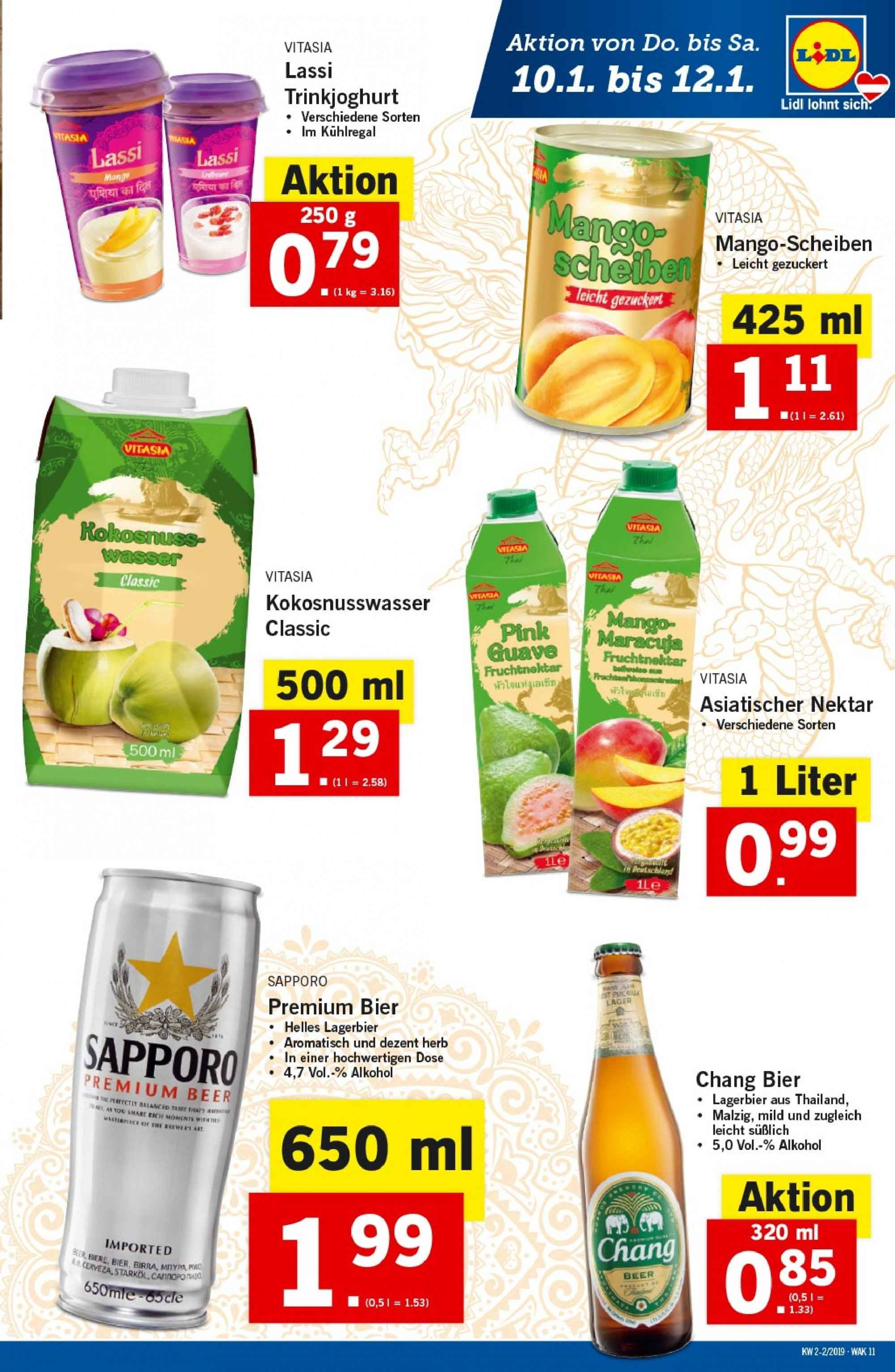 Angebote Lidl - 10.1.2019 - 16.1.2019. Seite 11.