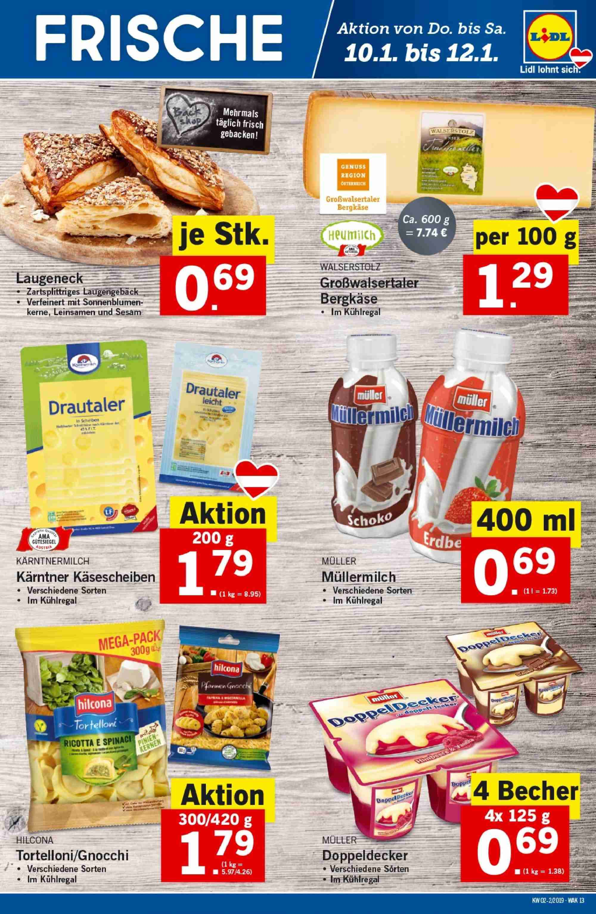 Angebote Lidl - 10.1.2019 - 16.1.2019. Seite 13.