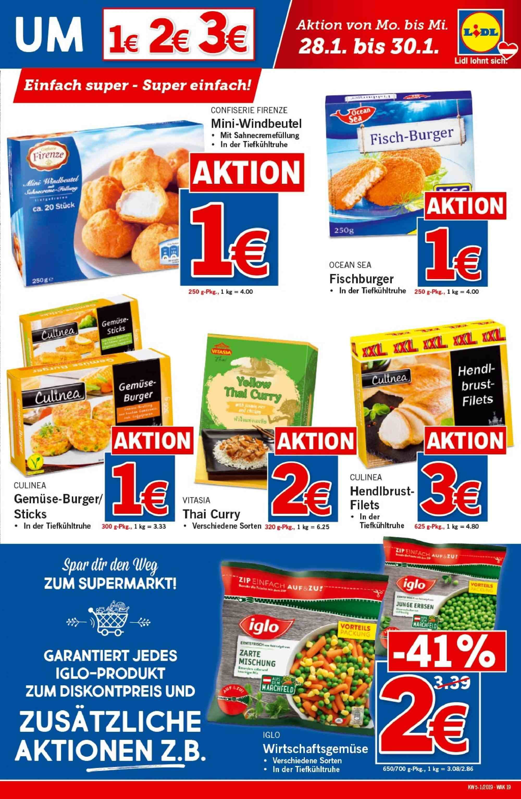 Angebote Lidl - 24.1.2019 - 30.1.2019. Seite 19.