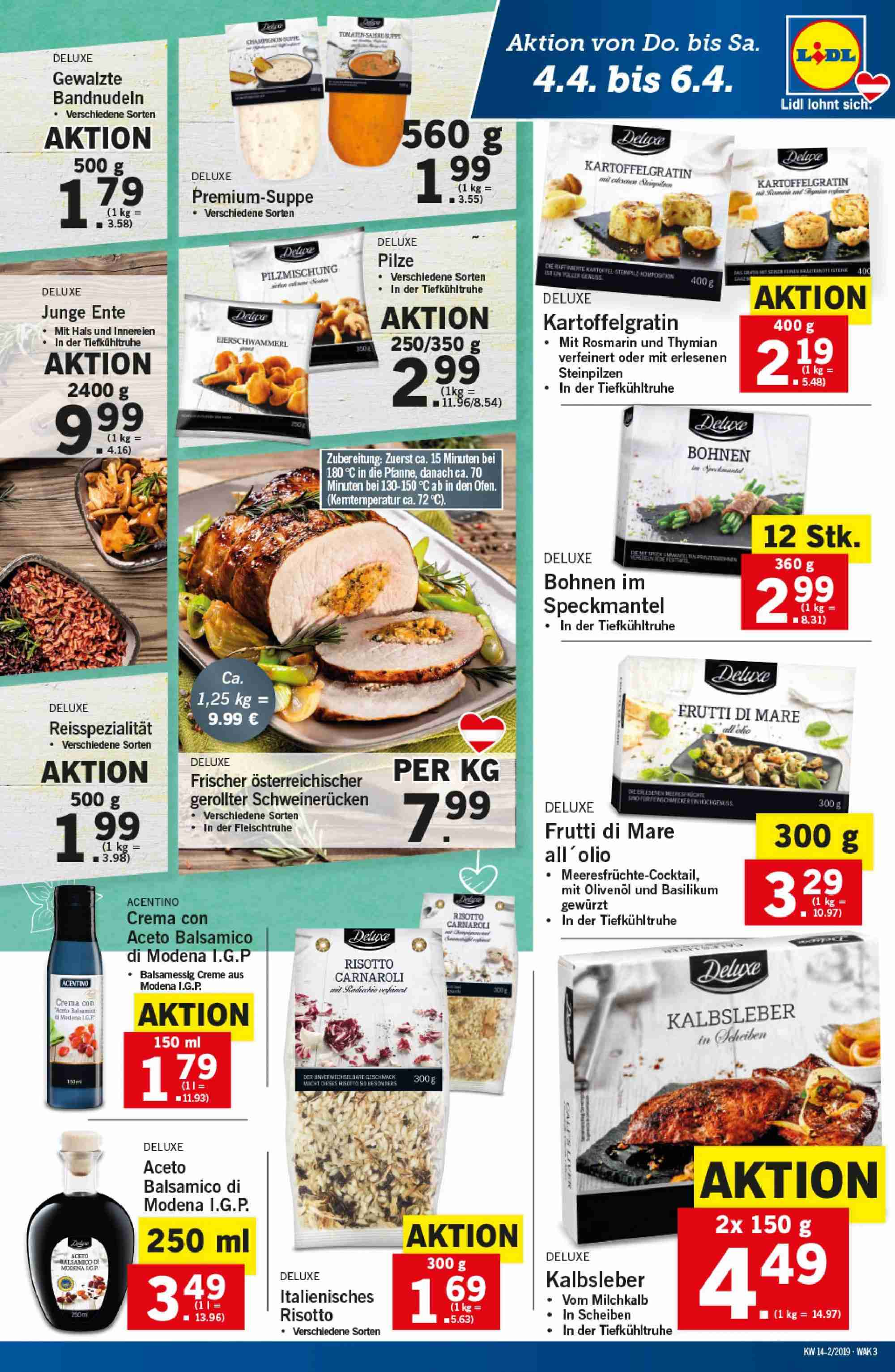 Angebote Lidl - 4.4.2019 - 10.4.2019. Seite 3.