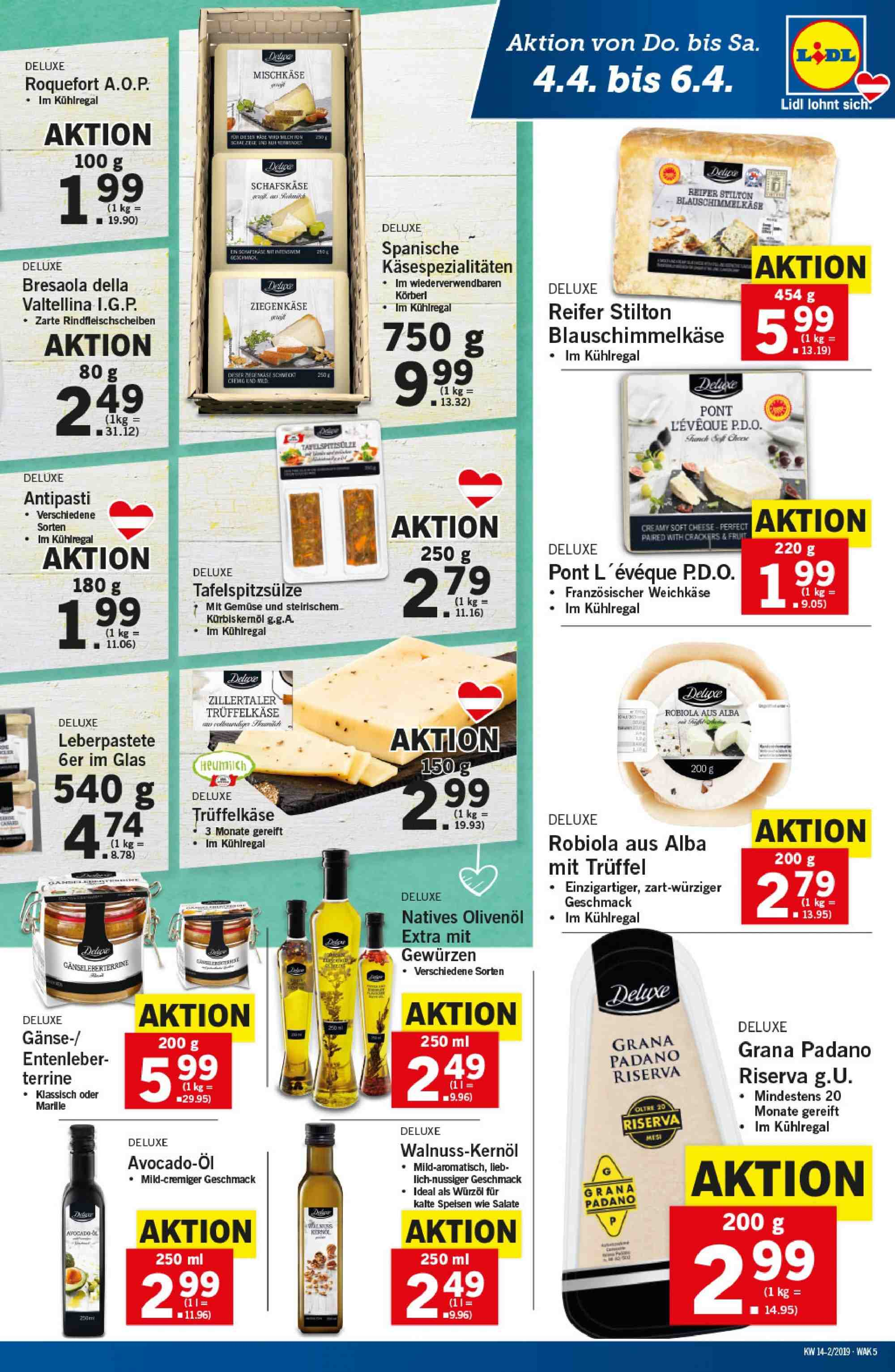 Angebote Lidl - 4.4.2019 - 10.4.2019. Seite 5.