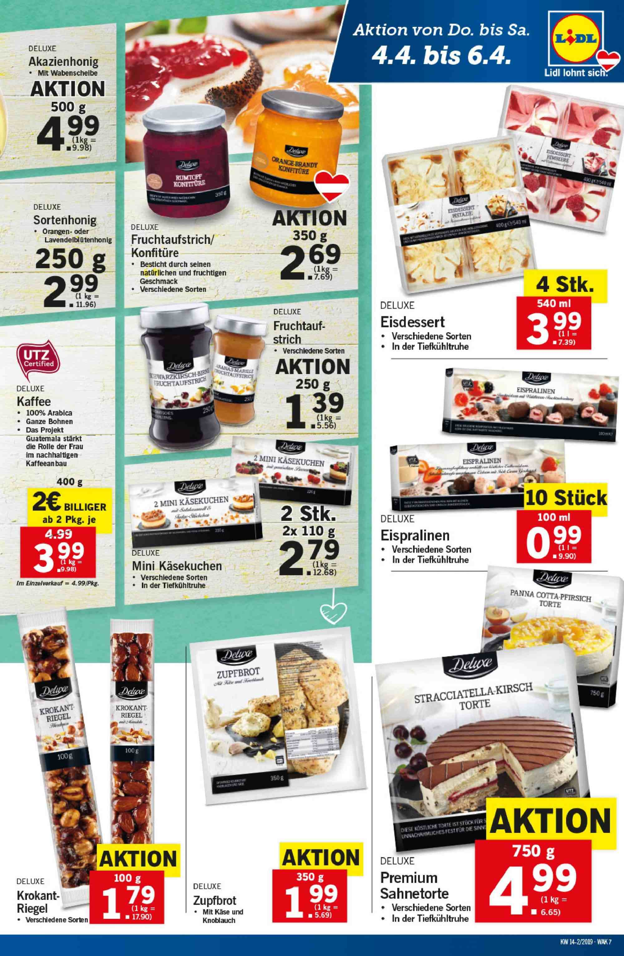 Angebote Lidl - 4.4.2019 - 10.4.2019. Seite 7.