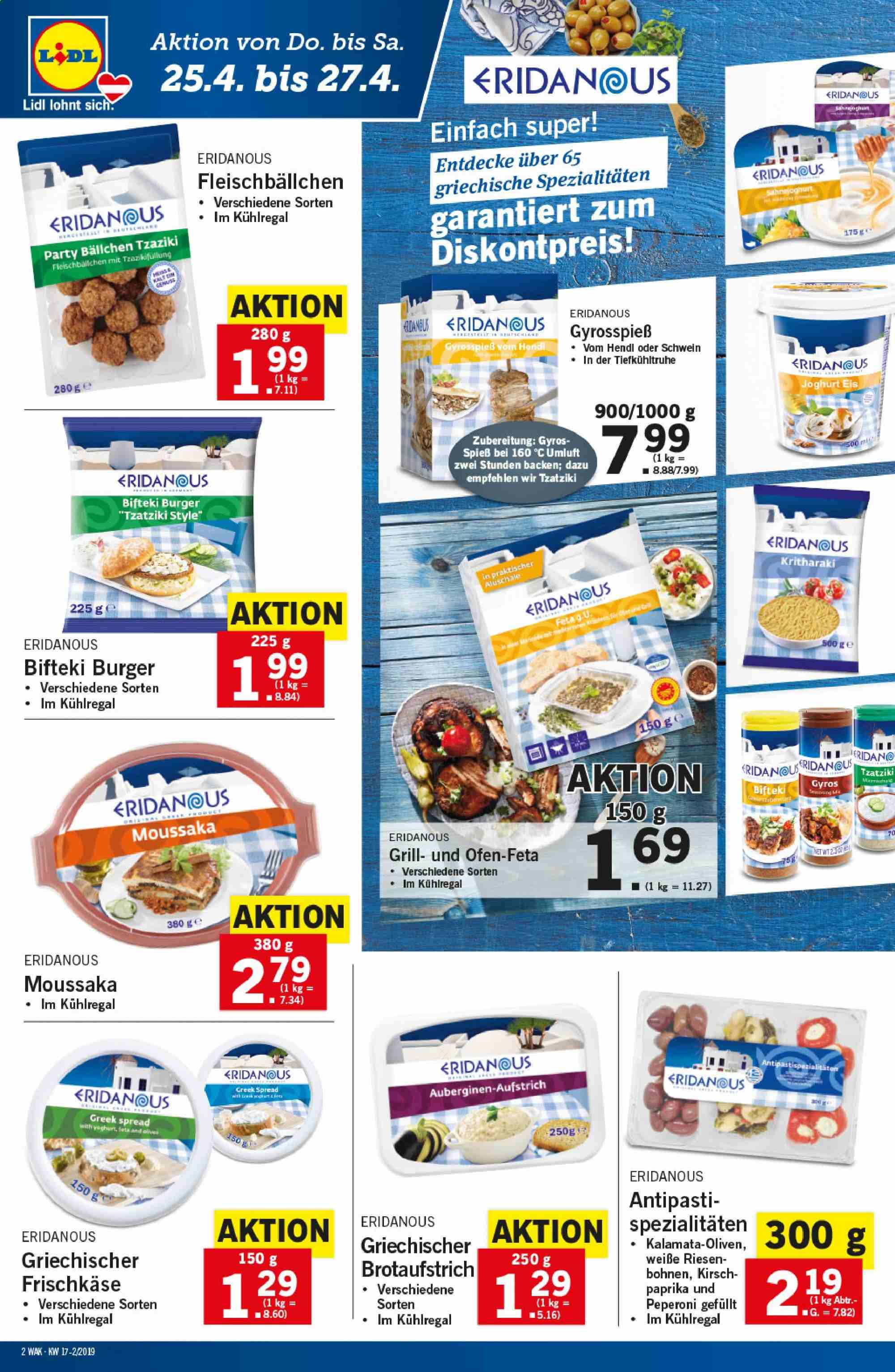 Angebote Lidl - 25.4.2019 - 30.4.2019. Seite 2.