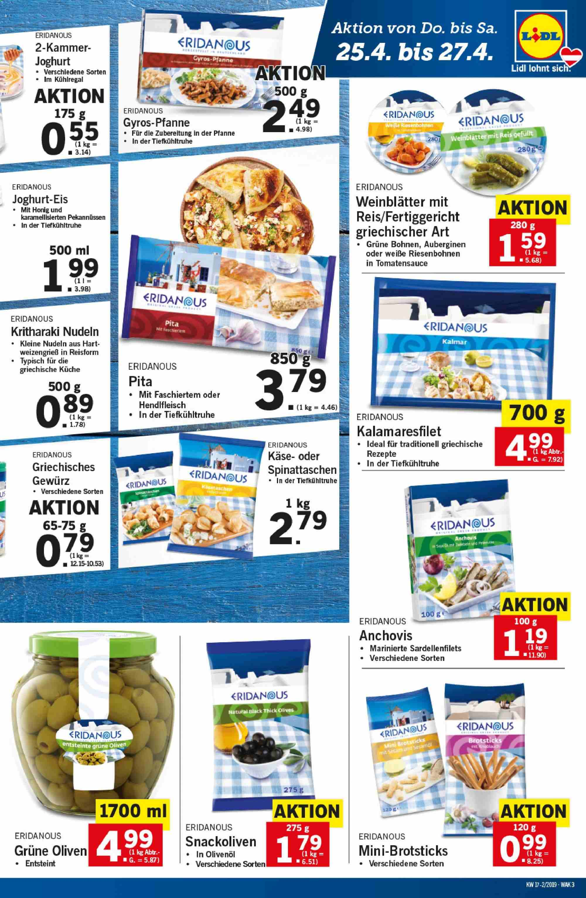Angebote Lidl - 25.4.2019 - 30.4.2019. Seite 3.