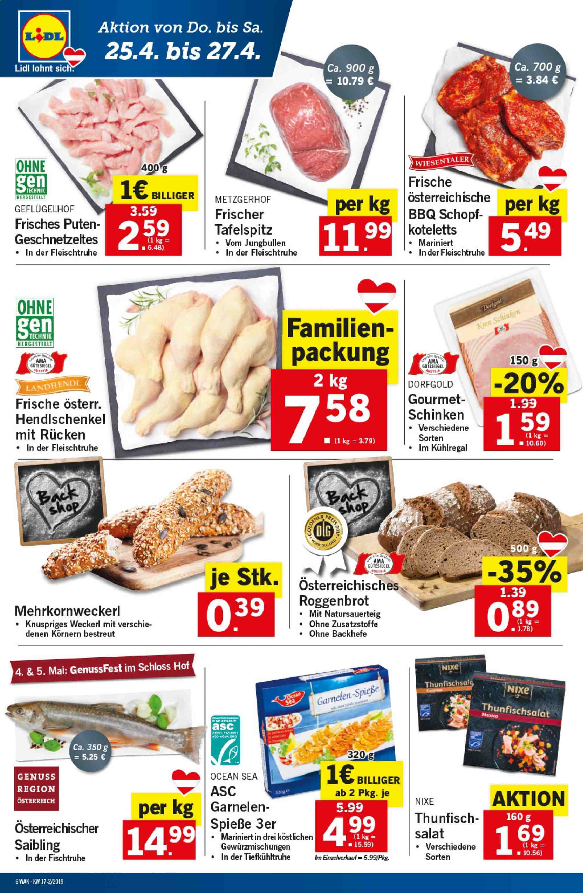 Angebote Lidl - 25.4.2019 - 30.4.2019. Seite 6.