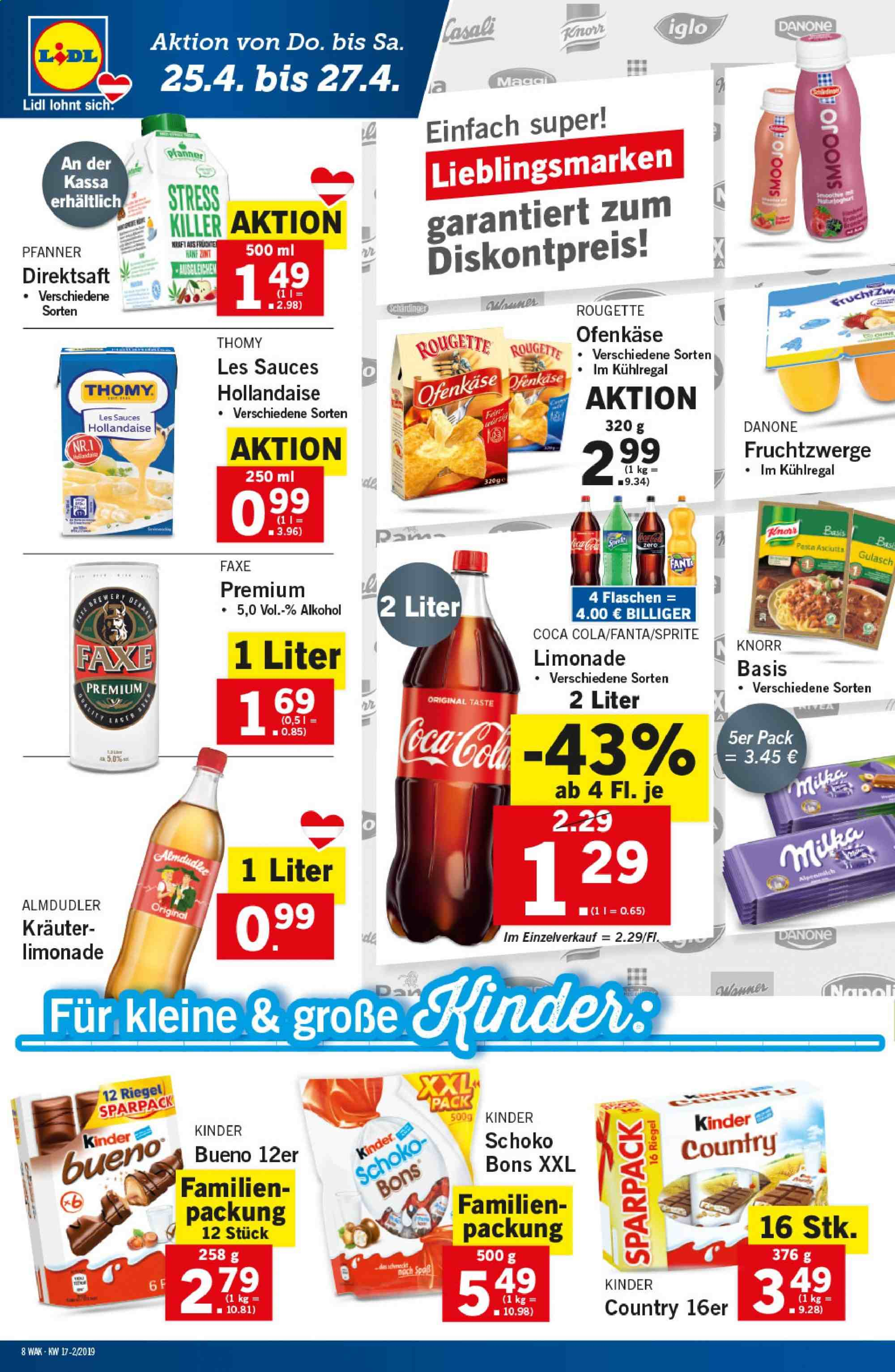 Angebote Lidl - 25.4.2019 - 30.4.2019. Seite 8.