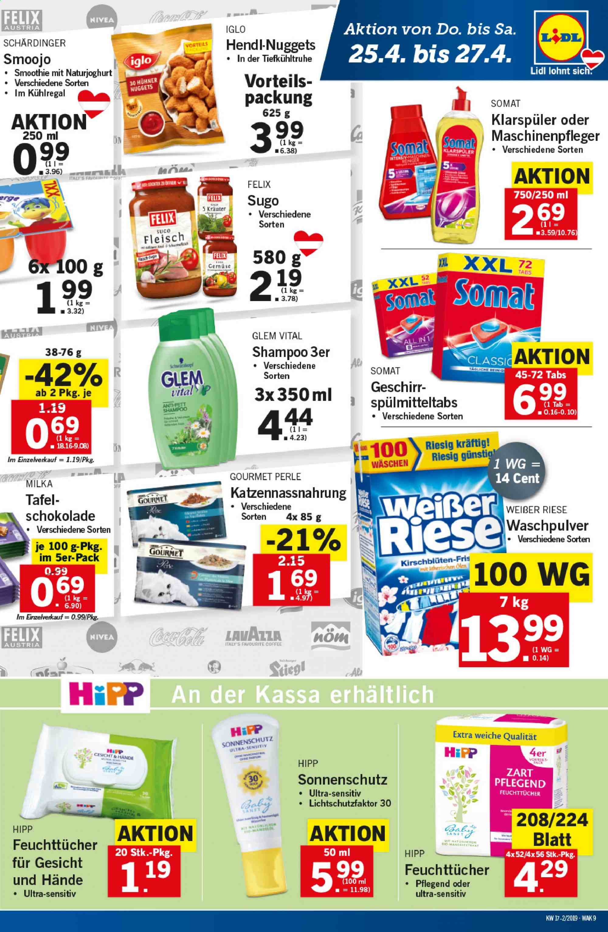 Angebote Lidl - 25.4.2019 - 30.4.2019. Seite 9.